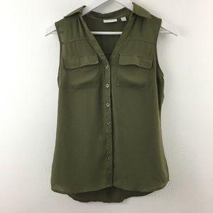 3/$22 New York & Company Sleeveless Blouse